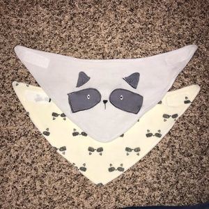 Two Chick Pea Bibs
